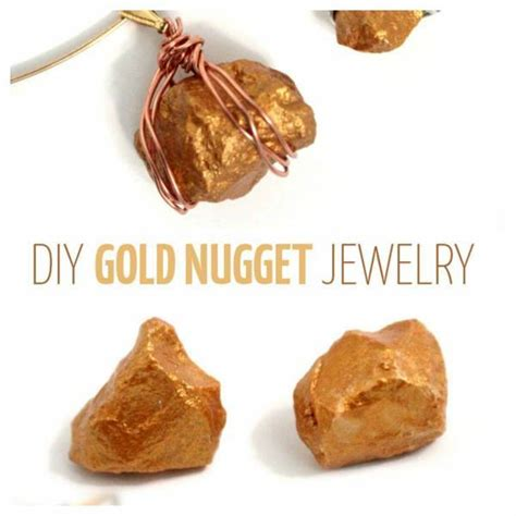 how to make gold jewelry gold again gold nugget jewelry tutorial haroldchaney926