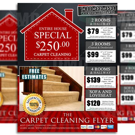 carpet cleaning flyers floor matttroy