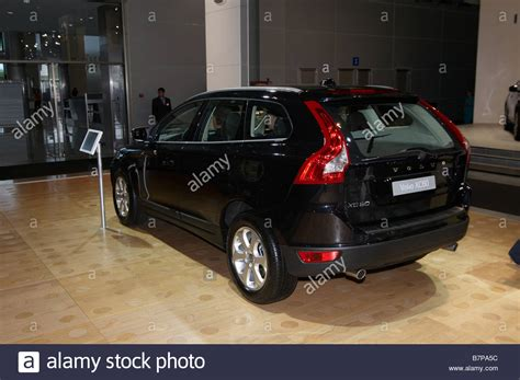 volvo xc russian premiere moscow international automobile stock photo  alamy