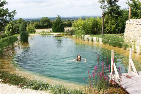 natural swimming pool natural swimming pools let you beat the heat and ditch