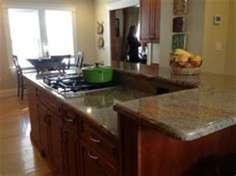 two tier island with sink and dishwasher would prefer 1000 images about kitchen remod on pinterest cherry