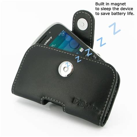 Softjacket Blackberry Z10 White pdair horizontal pouch type leather for blackberry