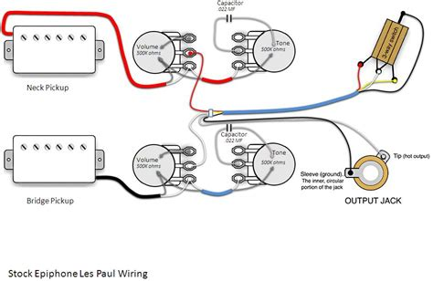 epiphone les paul standard wiring question mylespaul