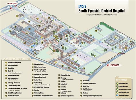 site plans innovation center south south tyneside nhs foundation trust how to find us