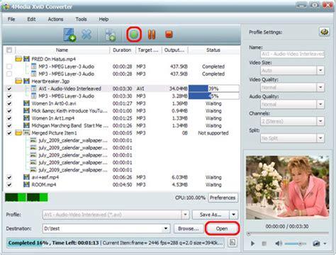 xvid format converter how to convert mkv to xvid avi video