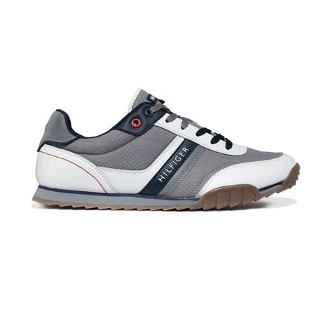 hilfiger white sneakers hilfiger newman2 sneakers in black for lyst