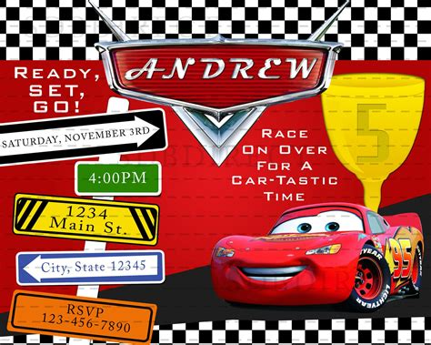 disney cars birthday invitation maker lightning mcqueen birthday invitations free printable images baby shower invitation wording