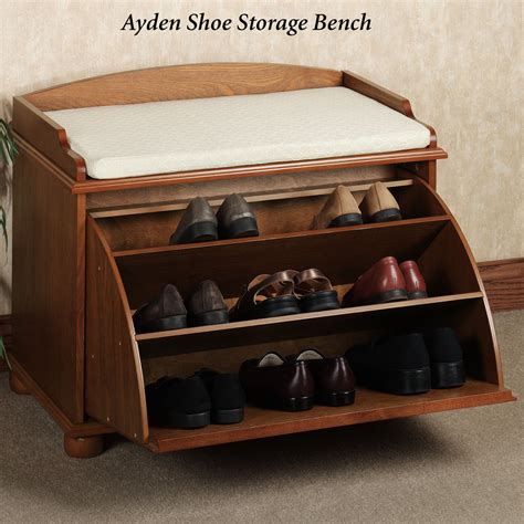 cool entryway benches cool shoe racks with unique ayden shoe storage bench