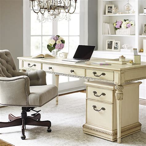 Antique White Writing Desk by Coastal Writing Desk Antique White