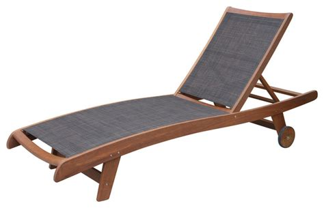 eucalyptus chaise lounge sling and eucalyptus chaise loungers set of 2