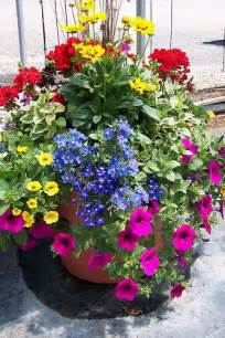 Container Flower Gardening Ideas Container Garden Need This For My Patio Planter Colors Gardening