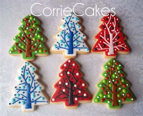 christmas decorating ideas cookie outdoor tree christmas cookies 2012 cakecentral com