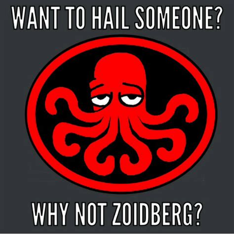 why would anyone want an want to hail someone why not zoidberg why meme on sizzle