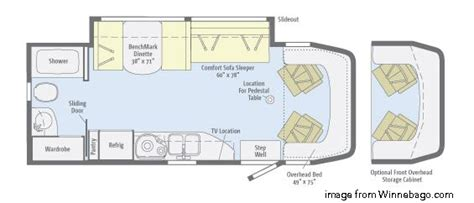 small rv floor plans the best small rv s living large in a small space