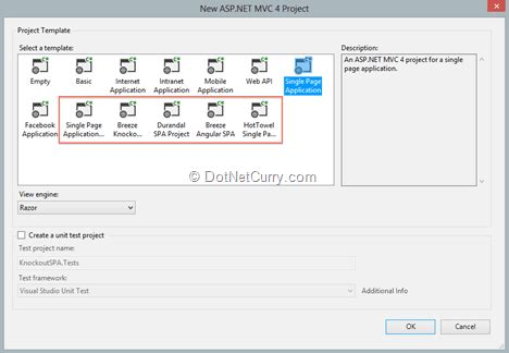 Enhancements For The Asp Net Web Developer In Visual Studio 2012 Web Tools Update 2012 2 Asp Net Web Site Template Visual Studio 2012