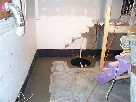 drain basement cost interior foundation footing drain for basement allied waterproofing drainage
