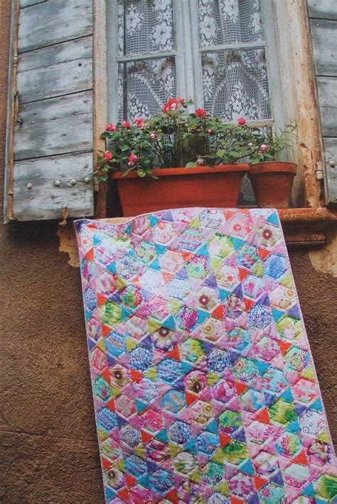 Provence Quilt by Cabbage Quilts Quilts En Provence