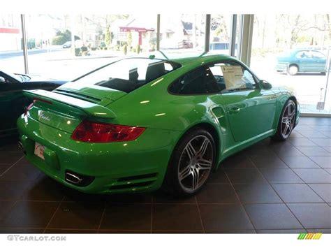 2009 green paint to sle porsche 911 turbo coupe 6561829 photo 10 gtcarlot car color