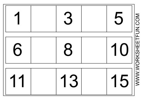 numbers pattern recognition number recognition worksheets for preschool free number