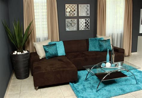 color chocolate color chocolate y azul turquesa decoracion
