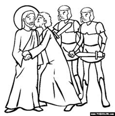 coloring page jesus arrested 1000 images about lent on ash wednesday holy