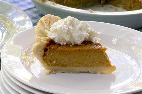 homemade pumpkin pie recipe hgtv