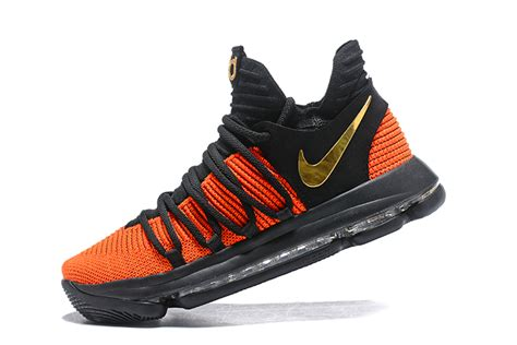 new year kd 10 nike kd 10 china exclusive black orange gold for sale