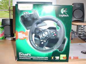 Logitech Drivefx Steering Wheel For Xbox 360 Activewin Logitech Drivefx Racing Wheel For Xbox 360