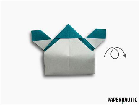 Samurai Origami Hat - samurai hat origami design papernautic