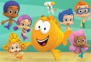 bubble guppies popular cartoon