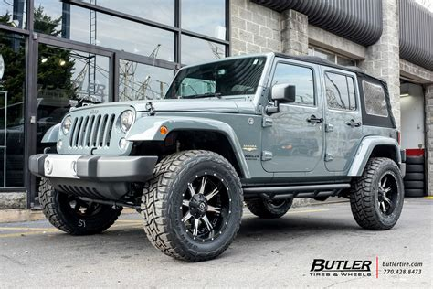 jeep fuel wheels jeep wrangler with 20in fuel nutz wheels exclusively from