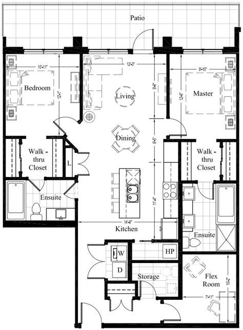 floor plans with in suite suite 106 1 252 sq ft new condo floor plan