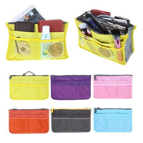 Slim Bag 2 slim bag in bag purse organizer 2 pack boardwalkbuy