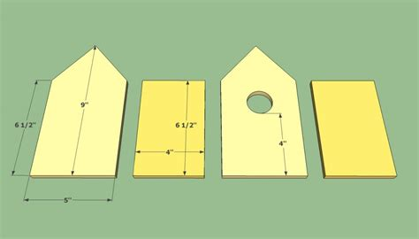birdhouse plans free howtospecialist how to build