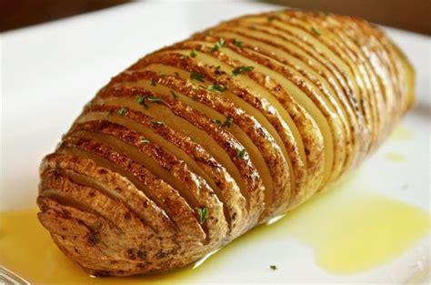 hasselback potatoes bigoven 238803