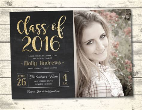 graduation announcement templates graduation announcement template 28 images best 46