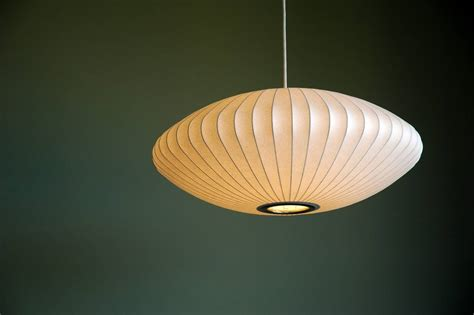 nelson pendant l replica george nelson saucer pendant light at 1stdibs