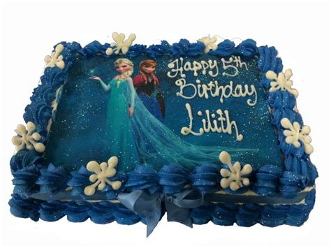 Home Decorating Photos Frozen Theme Cake Cake Factory