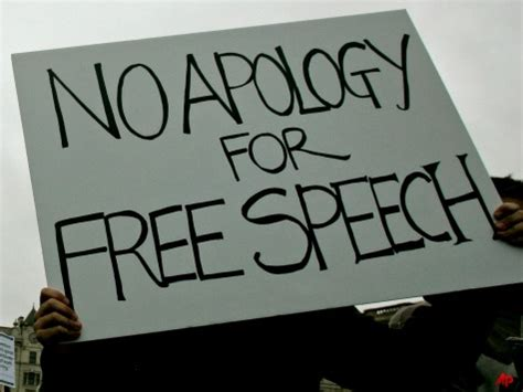 Law Must Protect Free Speech Top Churchman Says Free Speech