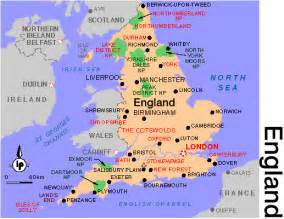 England World Map by England Map