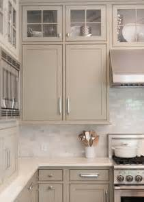 Kitchen Cabinet Color Neutral Painted Cabinets Gray Greige Taupe And Gray Greens Offer A Change To The Stark
