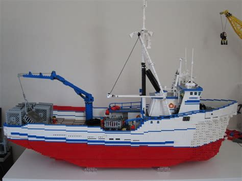 northwestern boat this is my own lego scale model of the f v northwestern