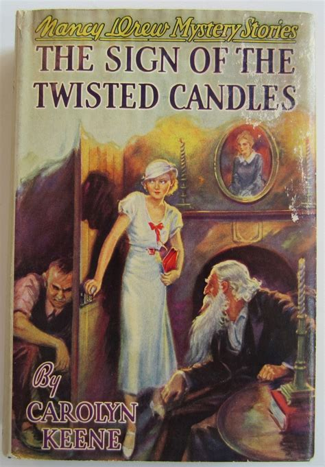 the mystery of the nancy drew first edition dj 9 the sign of the twisted candles second print book offered by