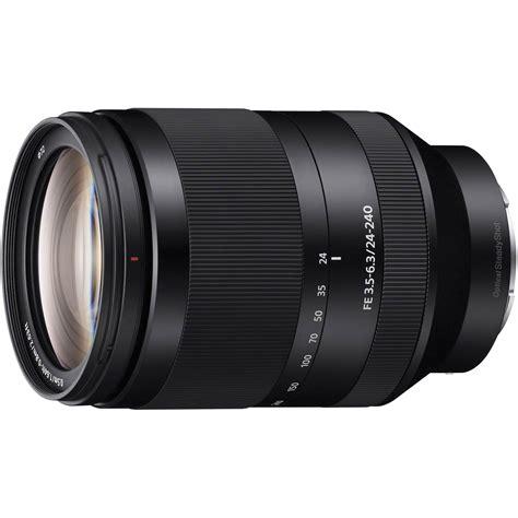 Sony Fe 24 240mm F 3 5 6 3 Oss sony fe 24 240mm f 3 5 6 3 oss lens sel24240 b h photo