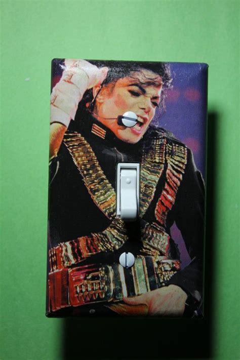 Teen Room Decor Ideas Michael Jackson King Of Pop Light Switch Plate Cover Girls