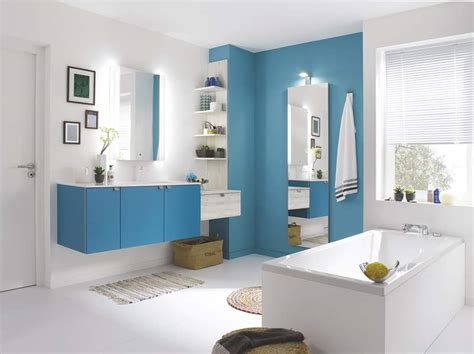 Salle De Bain En Couleur 10 salles de bains en couleur femme actuelle
