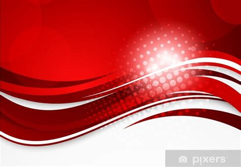 abstract red background wall mural pixers