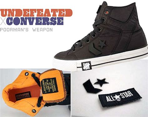 Harga Converse Vulcanized undefeated x converse poorman s weapon sole redemption