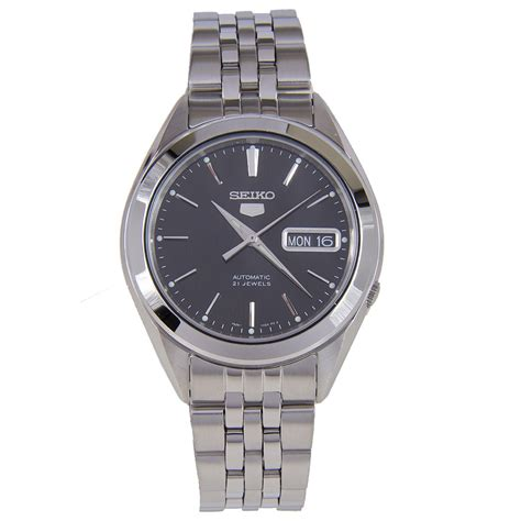 Seiko 5 Sports Mens Srp241k1 Black Jam Tangan Pria Srp241 seiko 5 snkl23k1 automatic watches