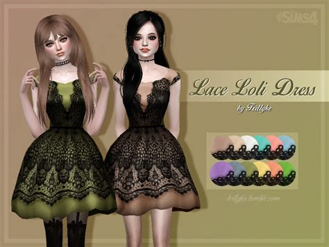 Loly Dress trillyke lace loli dress